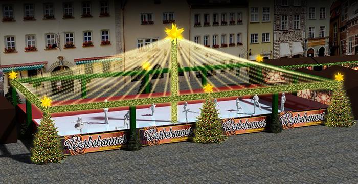 Schlittschuhbahn Speyer Weihnachtsmarkt 2017